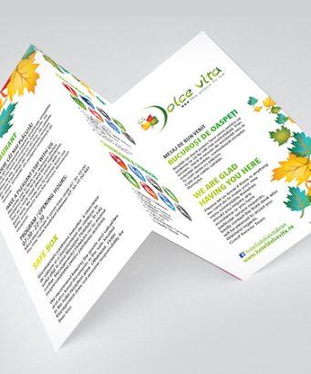 La Dolce Vita-brochure